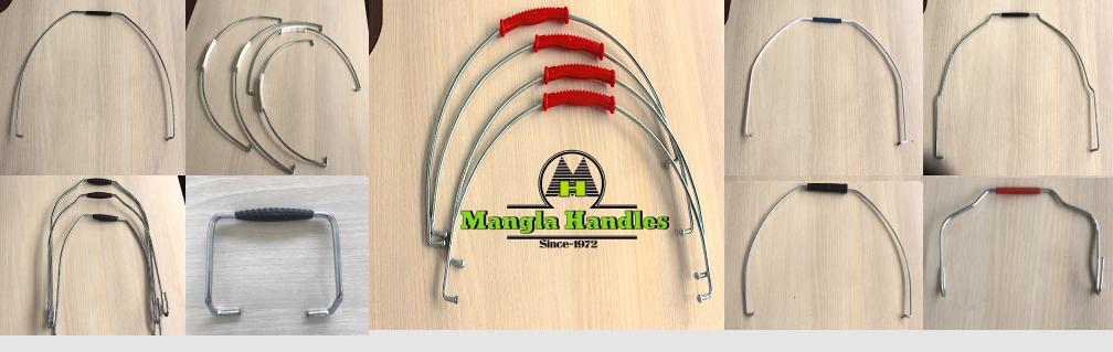 Bucket handles-wire handles